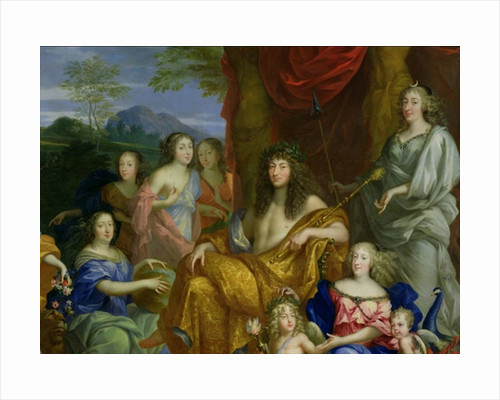 The Family of Louis XIV by Jean Nocret