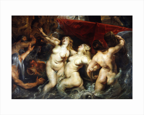 Detail of the Sirens from 'The Arrival of Marie de Medici in Marseilles' by Peter Paul Rubens