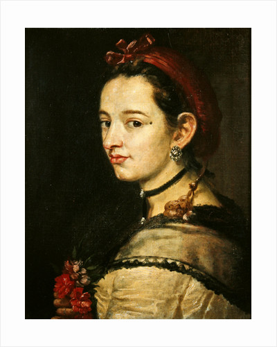 Portrait of a woman by Spanish School