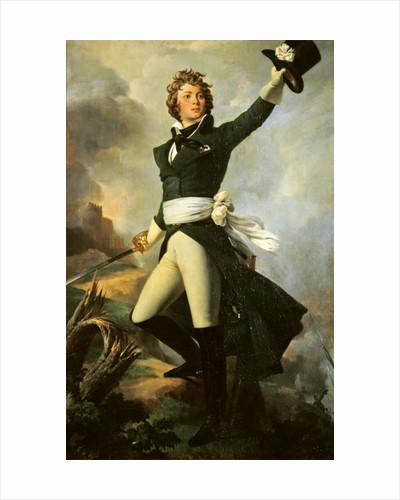 Antoine Philippe de la Tremoille, Prince of Talmont by Leon Cogniet