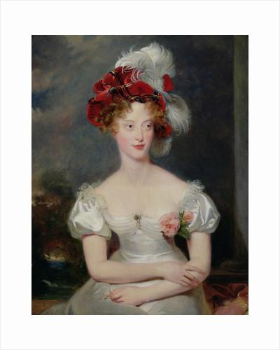 La Duchesse de Berry by Thomas Lawrence
