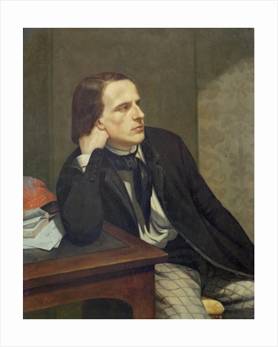 Portrait of Paul Ansout by Gustave Courbet