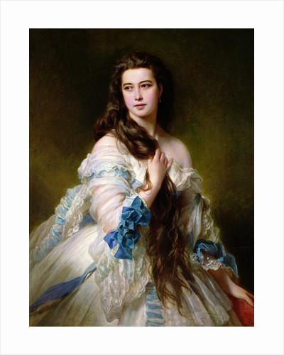 Portrait of Madame Rimsky-Korsakov by Franz Xaver Winterhalter