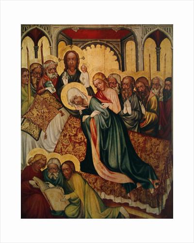 Death of the Virgin by Czech School