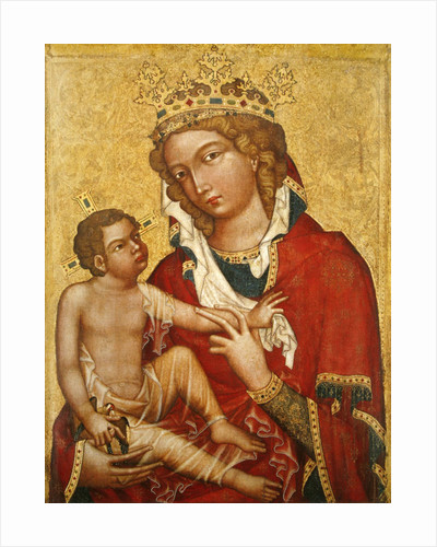 Virgin and Child by Czech School