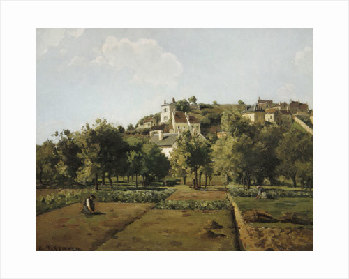 Pontoise, or The Gardens of the Hermitage, Pontoise by Camille Pissarro