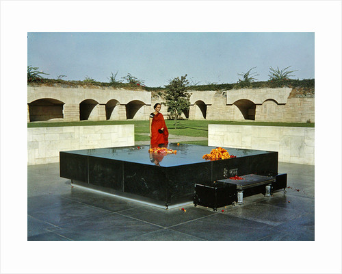 Tomb of Gandhi by Anonymous