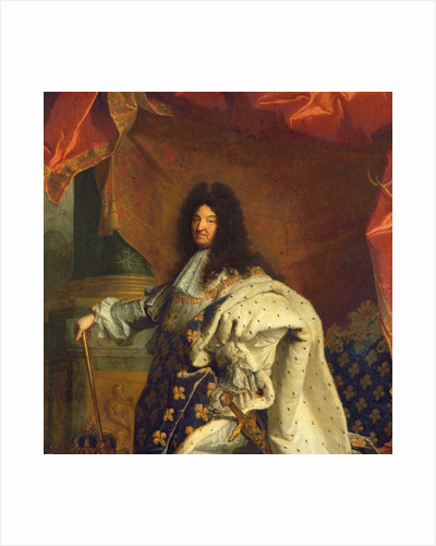 Louis XIV in Royal Costume by Hyacinthe Francois Rigaud