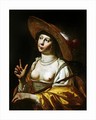 Shepherdess by Jan van Bijlert or Bylert