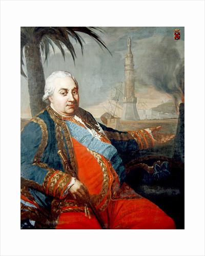 Portrait of Pierre Andre de Suffren of Saint-Tropez by French School