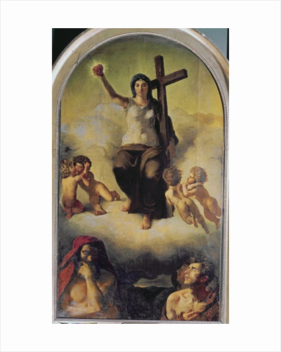 The Virgin of the Sacred Heart by Ferdinand Victor Eugene Delacroix