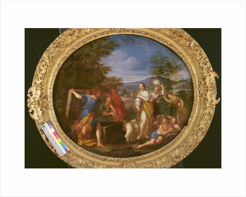 Jacob protecting Rachel by Francesco Albani