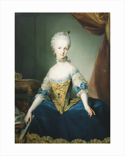 Maria Josepha of Austria by Anton Raphael Mengs