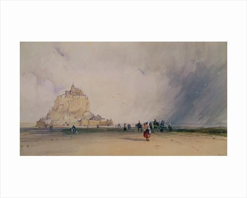 Mont Saint Michel by Richard Parkes Bonington