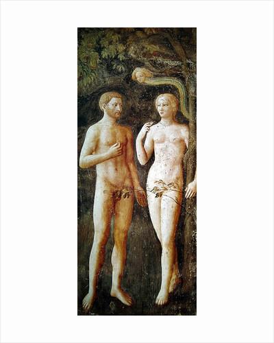 The Temptation of Adam and Eve by Tommaso Masolino da Panicale
