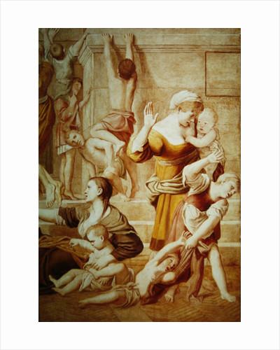 Detail of St. Cecilia Distributing Alms by Domenichino
