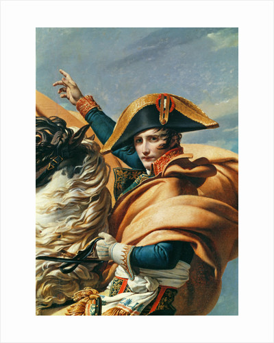 Bonaparte Crossing the Alps by Jacques Louis David