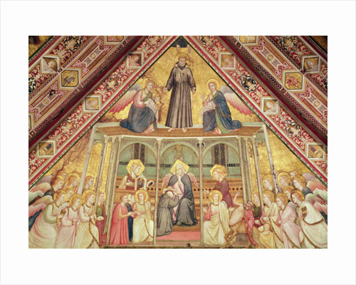 Allegory of Obedience by Giotto di Bondone