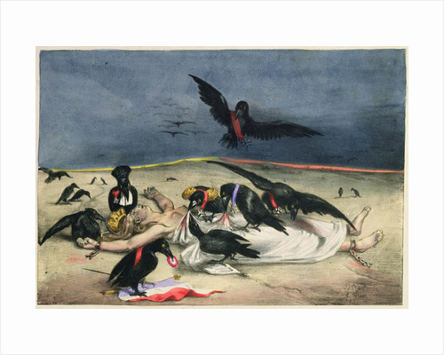 France delivered to crows of all kinds by Grandville