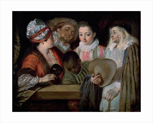 Actors from the Theatre Francais by Jean Antoine Watteau