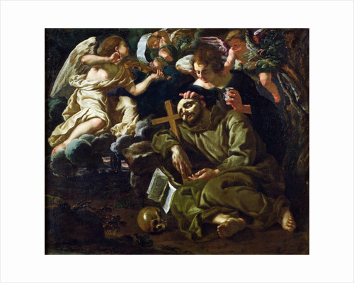 The Ecstasy of St. Francis by Sigismondo Coccapani