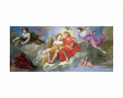 Apollo and the Seasons by French School