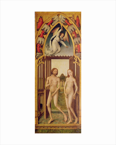 Redemption Triptych: the expulsion of Adam and Eve from Paradise by Vrancke van der Stockt