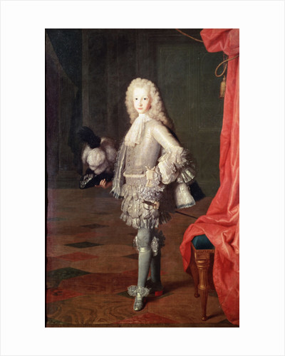 Portrait of Louis I of Spain by Michel-Ange Houasse