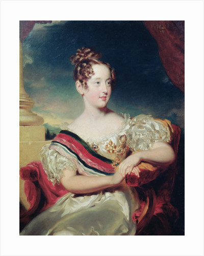 Portrait of Dona Maria II by Thomas Lawrence