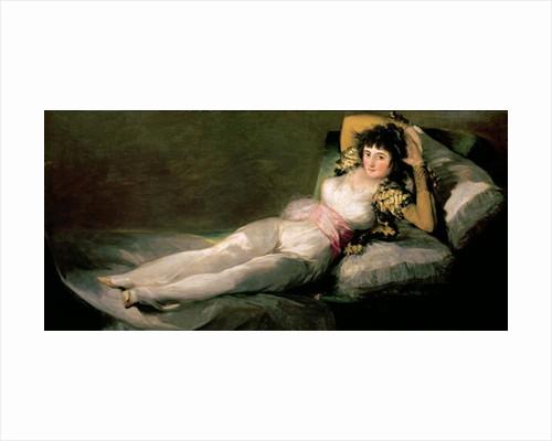 The Clothed Maja by Francisco Jose de Goya y Lucientes