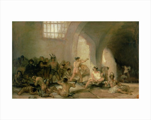 The Madhouse by Francisco Jose de Goya y Lucientes