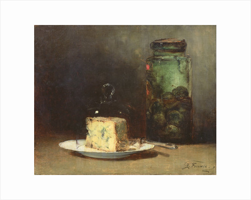 Still Life with Cheese by Guillaume Romain Fouace