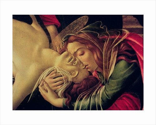The Lamentation of Christ by Sandro Botticelli