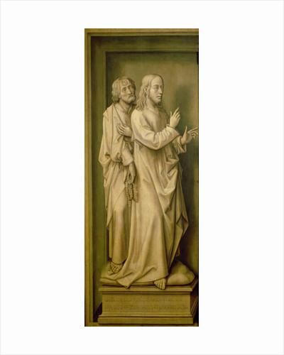 Christ and a Disciple by Rogier van der Weyden