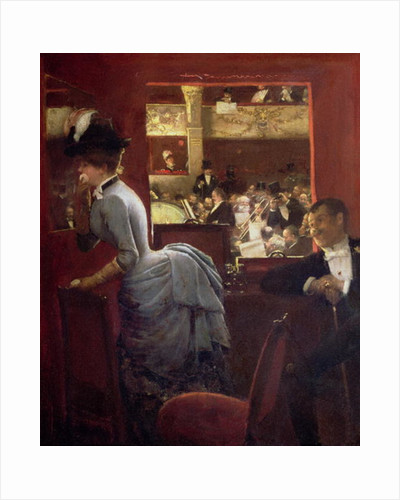 The Box by the Stalls by Jean Beraud