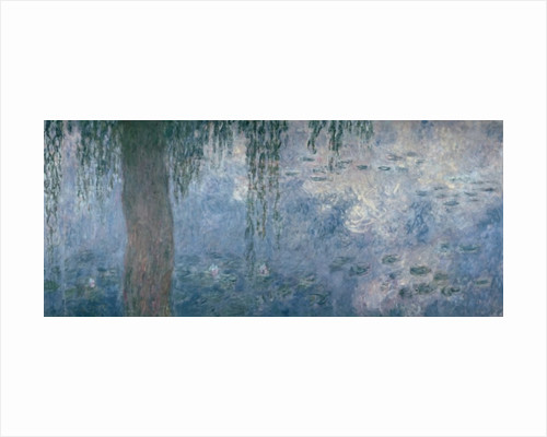 Waterlilies: Morning with Weeping Willows by Claude Monet
