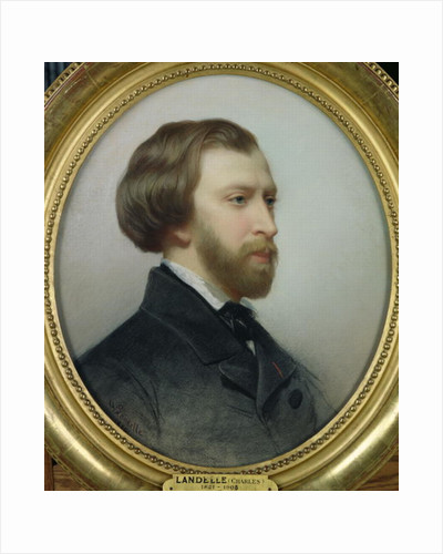 Portrait of Alfred de Musset by Charles Landelle