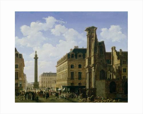 La Place Vendome by Etienne Bouhot