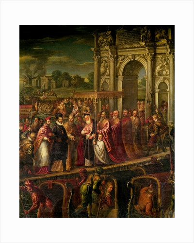 King Henri III of France visiting Venice in 1574 by Andrea Vicentino