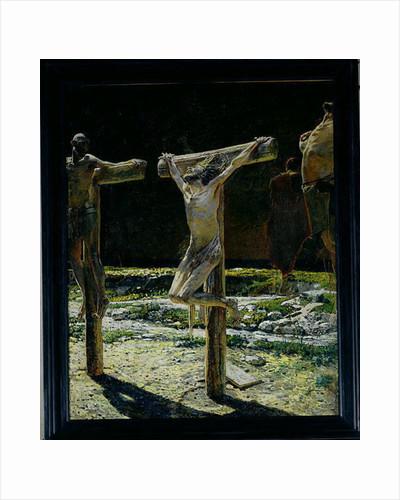 The Crucifixion, or Golgotha by Nikolai Nikolaevich Ge