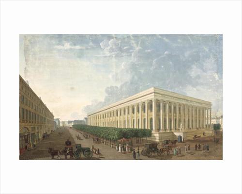 The Palais de la Bourse by Henri Courvoisier-Voisin