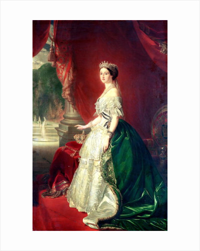 Empress Eugenie of France wife of Napoleon Bonaparte III by Franz Xaver Winterhalter