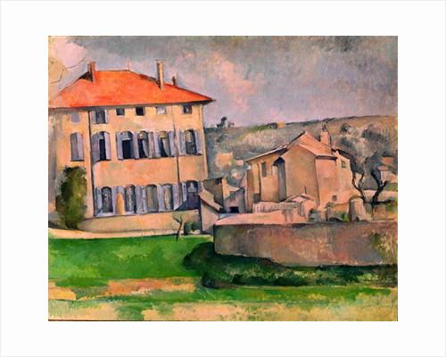 Jas de Bouffan by Paul Cezanne