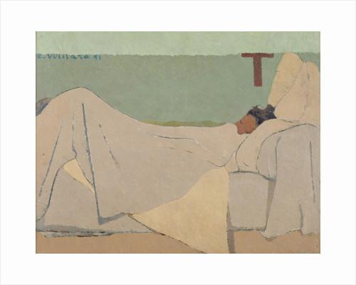 In Bed, 1891 by Edouard Vuillard