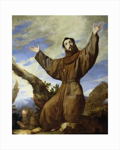 St. Francis of Assisi by Jusepe de Ribera