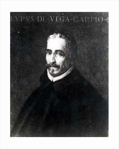 Portrait of Lope Felix de Vega Carpio by Spanish School