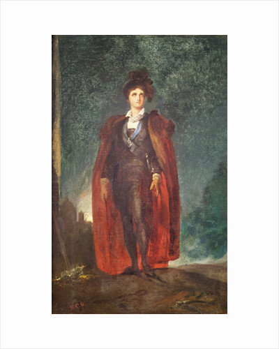 John Philip Kemble in the role of 'Hamlet' by Thomas Lawrence