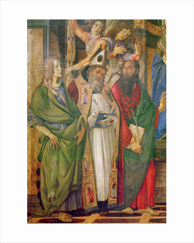 The Altarpiece of Saint Barnabas by Sandro Botticelli