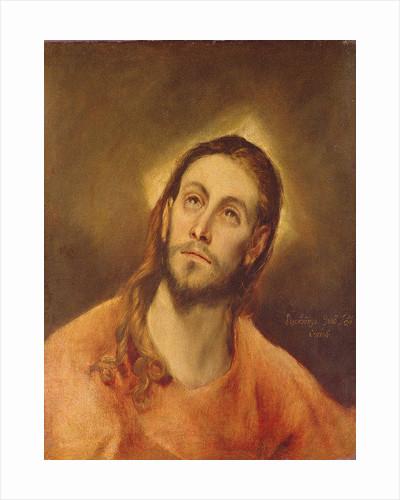 Head of Christ by El Greco