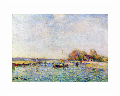 The Canal by Alfred Sisley